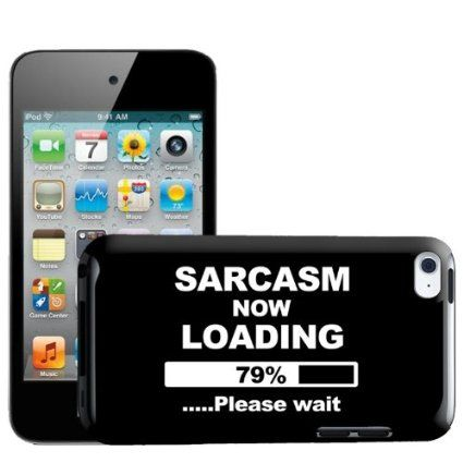 Fancy A Snuggle Sarcasm Now Loading Funny Joke Design Hard Back Case Cover for Apple iPod Touch 4th Generation