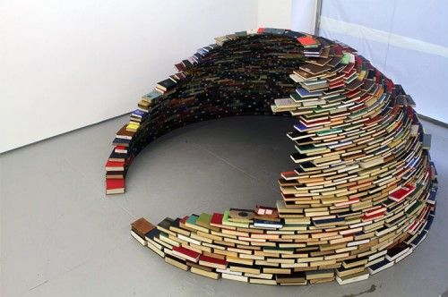 Book Dome, NYC - Miller Lagos, installation artist