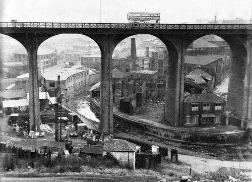 Byker Bridge, Newcastle upon Tyne, 1969