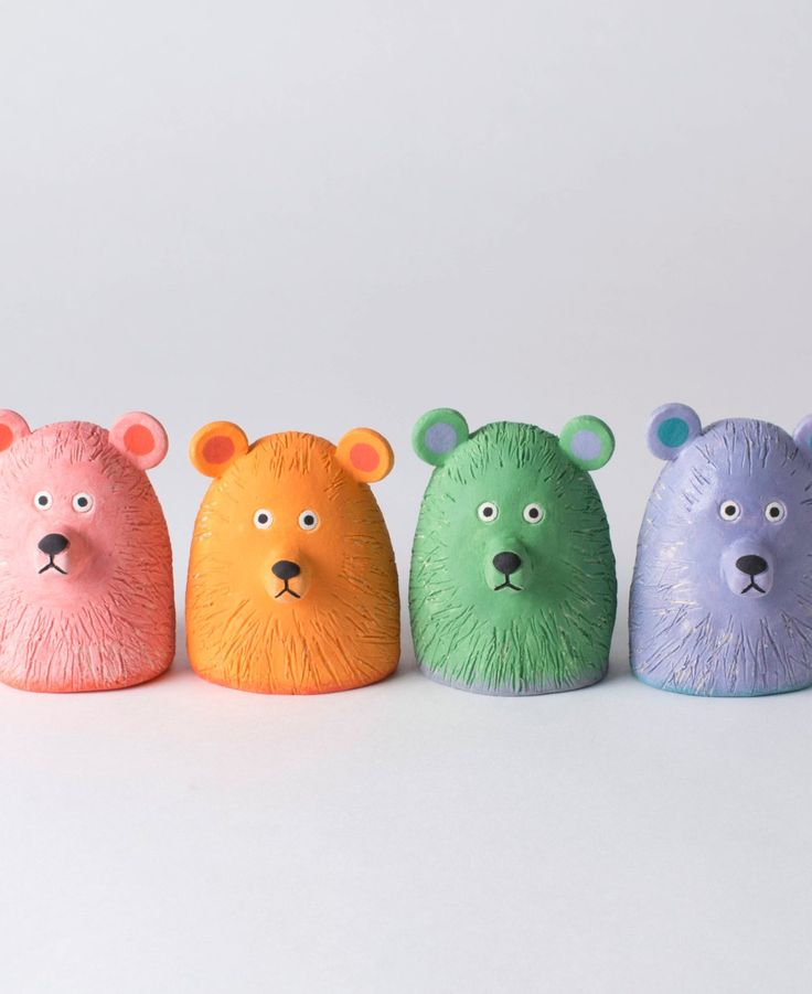 If you're searching for colorful ceramic creatures, look no further.