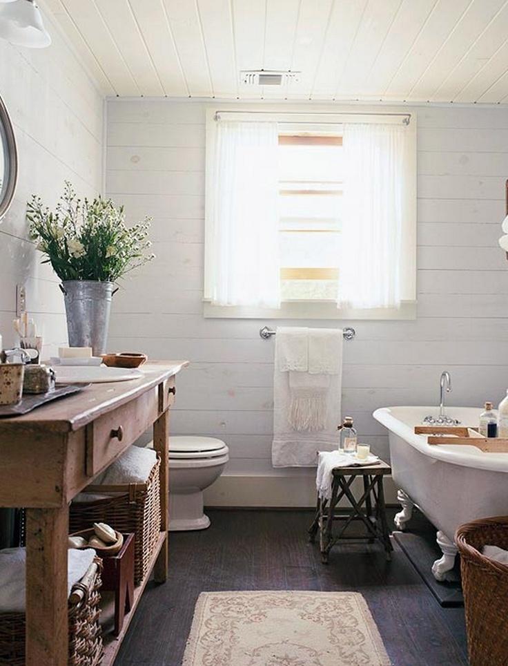 renovated cottage bathroom