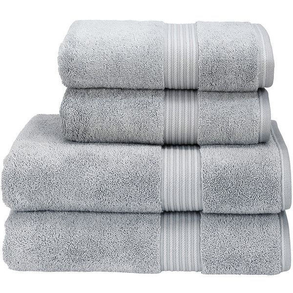 Christy Supreme Hygro Towel - Silver - Bath Sheet (750 EGP) ❤ liked on Polyvore featuring home, bed & bath, bath, bath towels, grey, gray bath towels, grey bath towels and christy bath towels
