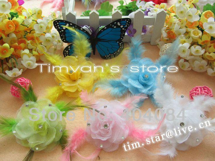 Ucuz deneme amacıyla 15pcs/lot 10 renk 2.5 inç yarm çiçekler tüy flower+ elmas +hair klipleri bebek saç aksesuarı, Satın Kalite saç aksesuarları doğrudan Çin Tedarikçilerden: 10 renk vardır seçebilirsinizgenellikle göndereceğiz iyi karışık size renk.:)daha fazla ürün daha fazla indirimsağlamak