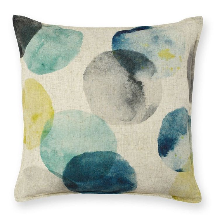 Aquaria Aqua Cushion 50cm. Madras Link's 50cm square cushions are a great size for beds. You only need 2