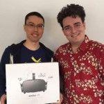 Palmer Luckey a livré en personne le tout premier casque Oculus Rift