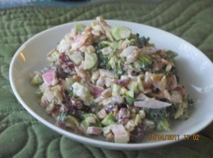 Broccoli Salad Delight Recipe ...i used fat free