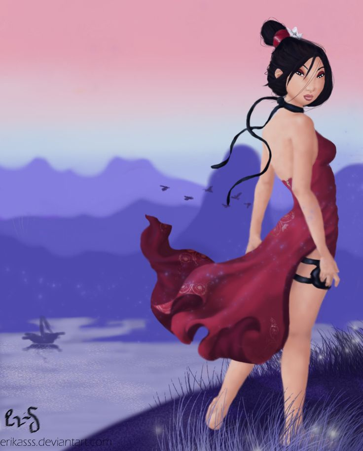 Disney meets Nintendo: Mulan - Mulan as Ada Wong from Resident Evil! I KNOW RESIDENT EVIL IS NOT NINTENDO!! IS THE NAME OF THE COLLECTION!