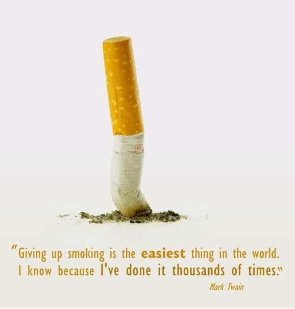 Giving up smoking... - http://quotesaday.com/funny-quotes/giving-smoking/
