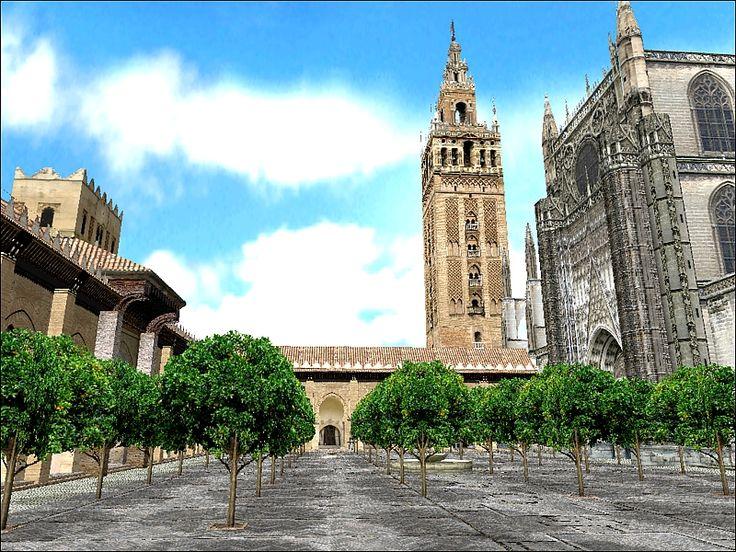 Imagen de la recreación virtual de la Catedral de Sevilla