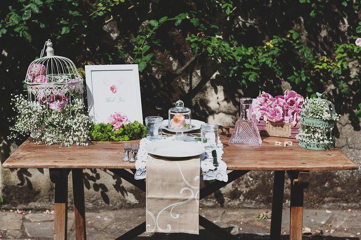Romantic set up, perfect for eloping with style!    Design and Decor: Neve Faustini http://wedinflorence.com/  Sebastian David Bonacchi Photography http://www.sebastianph.com/