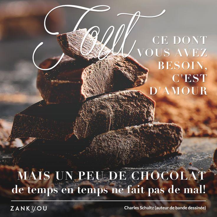 Wedding Quote #11 Et vous, vous êtes plutôt amour ou chocolat ;) ? (pour certaines personnes, c'est les deux sans hésitations)