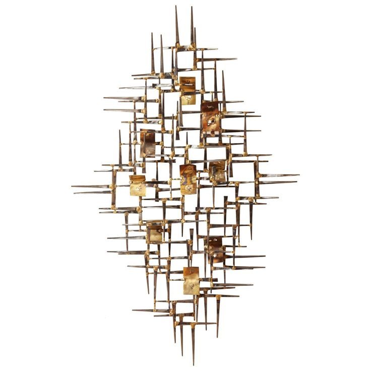 curtis jere style wall sculpture