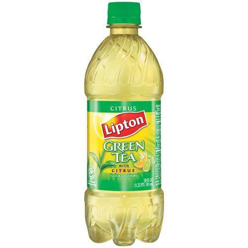Lipton Iced Tea Citrus Green Tea 20 Oz Bottle 2 Pack