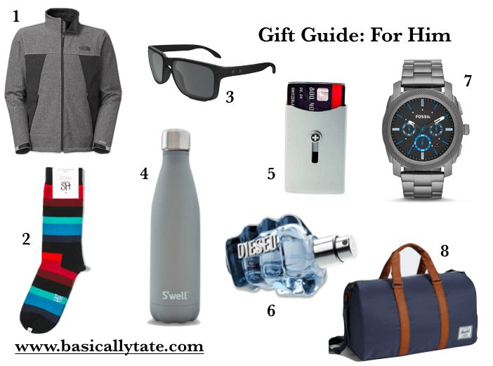 Gift Guide: For Him // Basically Tate