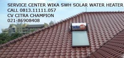 Service Center Wika SWH +62-21-86908408 Layanan Panggilan Service Center Pemanas Air Wika SWH 081311111057 Cv.Citra Champion adalah perusahaan yang bergerak dibidang service Wika Swh & penjualan Wika pemanas air Tenaga Surya.Dengan menggunakan Wika kebutuhan air panas di dalam rumah akan jauh lebih hemat dibanding menggunakan Heater listrik maupun gas.Serta layanan purna Jual mudah ditemui tersebar diseluruh Indonesia,selalu siap membantu anda. Cv.Citra Champion Jl.Raya Kapin No.25 Jakarta…