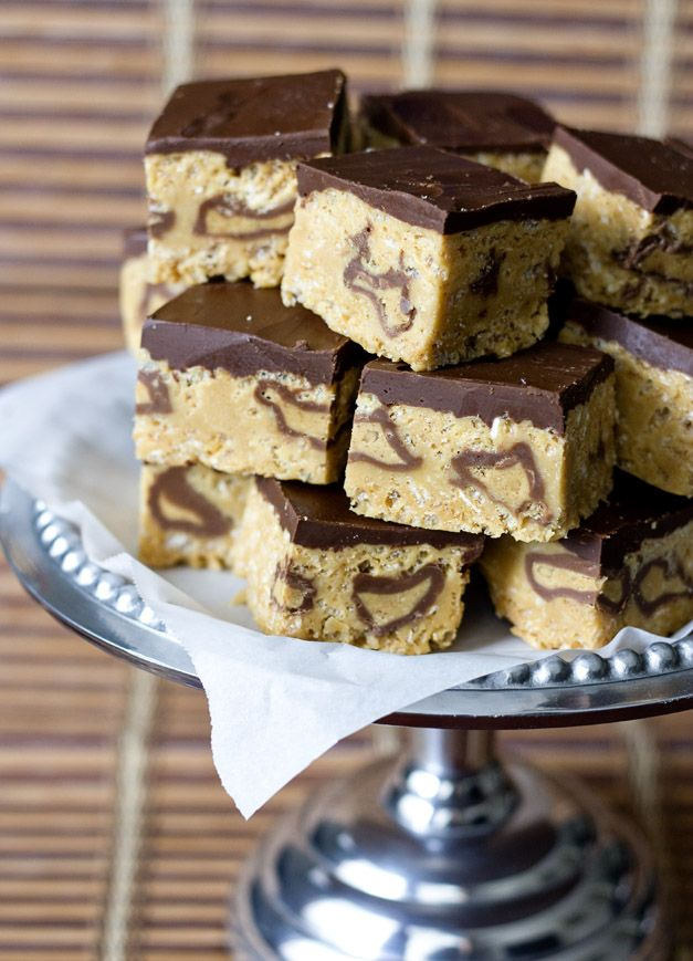 Erica's Sweet Tooth » Peanut Butter Cup Rice Krispie Treats