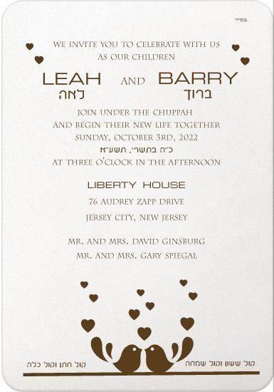 10 best Convite images on Pinterest Invitations, Jewish wedding - best of invitation english