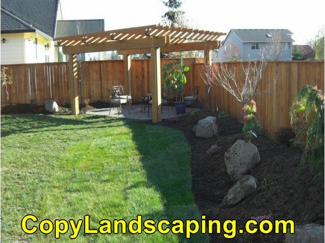 Great share  Backyard Landscape With Rocks