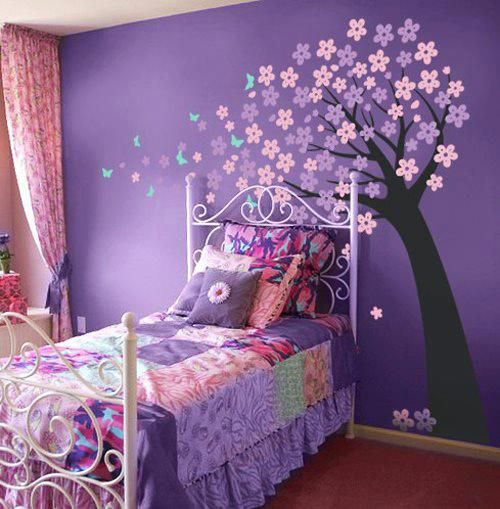 17 Best Ideas About Purple Kids Bedrooms On Pinterest
