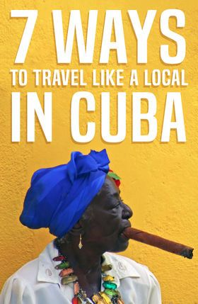 The Cuban people are warm and welcoming and love to engage with travelers! Here's how to travel like a local in Cuba.