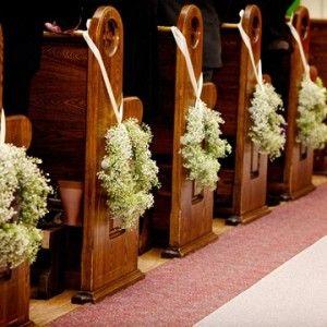 casamento na igreja com decoração preto e branco - Pesquisa Google
