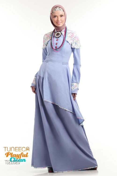 Gamis Assymetric Skirt Accent