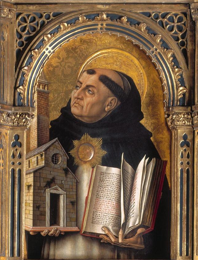 Saint Thomas Aquinas (1225–1274), Italian Christian theologian and philosopher