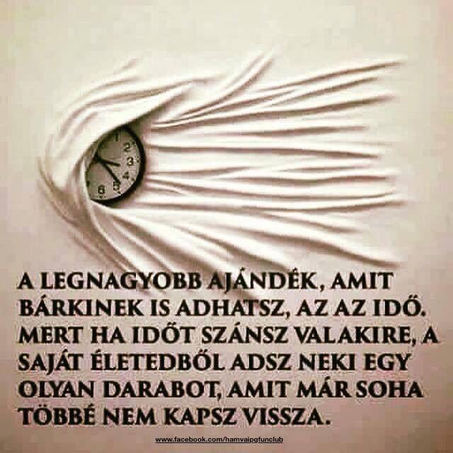 ...az idő.