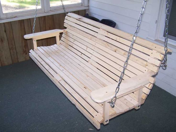 wooden porch swings plans 2