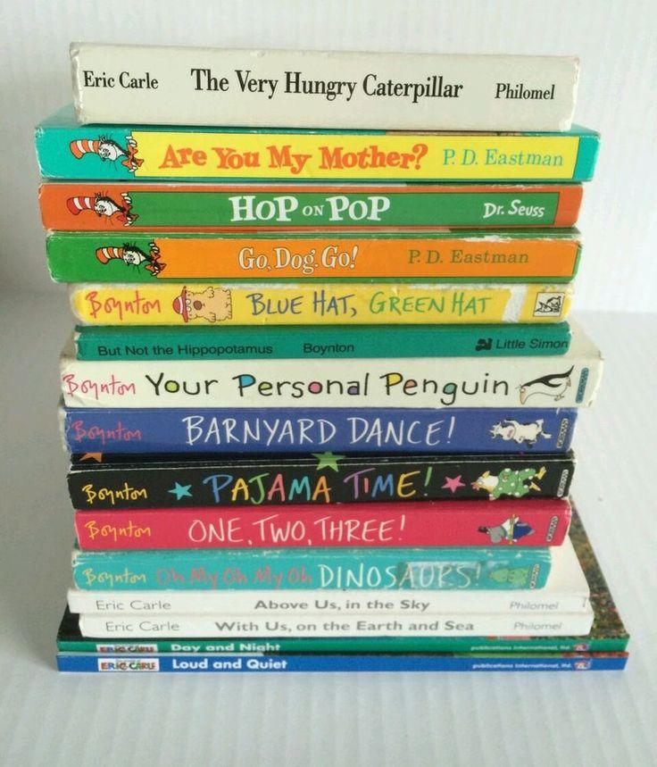 Childrens board books lot dr seuss boynton carle books