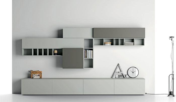 Nuvola wandmeubel op maat voorbeelden decor pinterest for Cockaert interieur