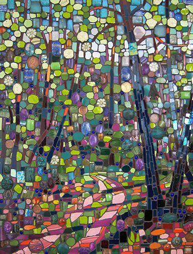Spring Path - Michael Sweere Mosaic