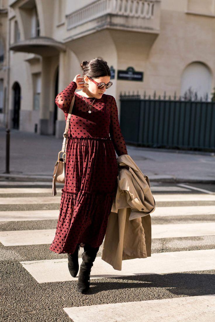Porter des cuissardes avec une robe longue look L'atelier d'al blog lifestyle mode