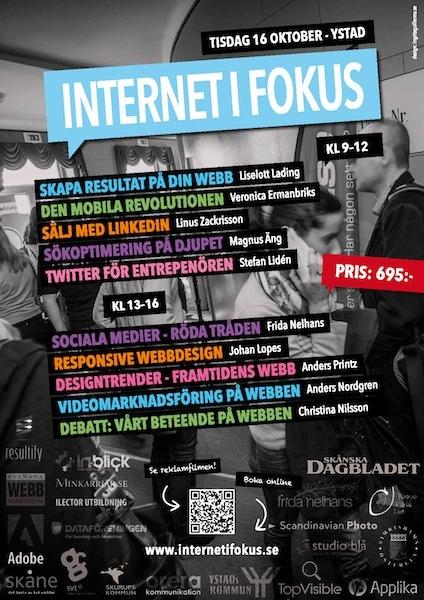 Nya poster till #internetifokus 2012