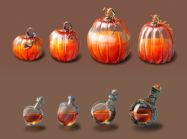 potions, Nadya Senina on ArtStation at https://www.artstation.com/artwork/rX2A6