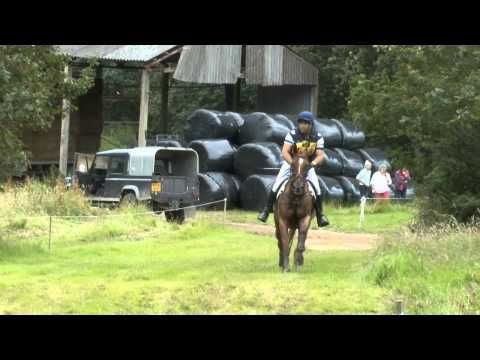 Brightling CIC** 2012 Featuring Flora Lady at fence 12.