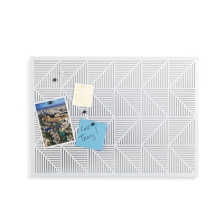 Amazon.com - Umbra Trigon Bulletin Board, White -