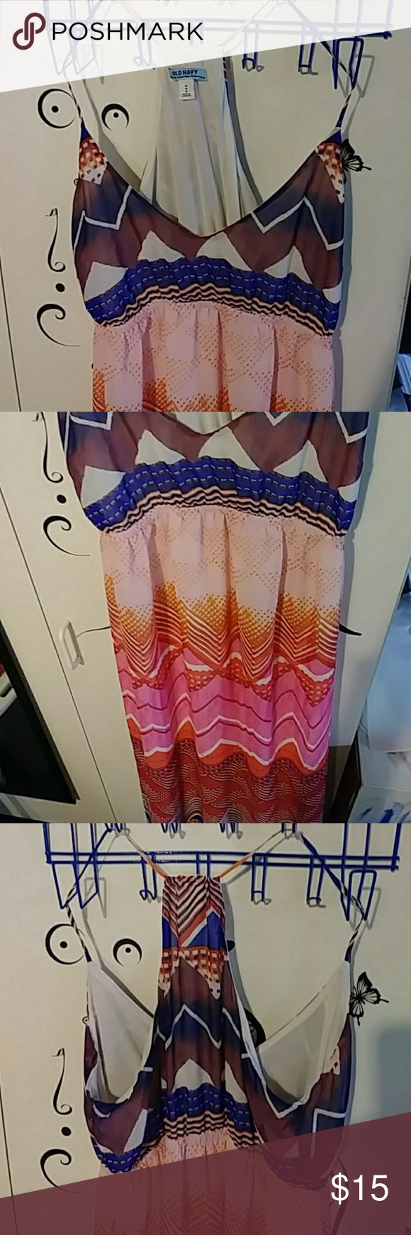 Old navy maternity dress Great condition. Cool for hot summer months Old Navy Dresses Maxi