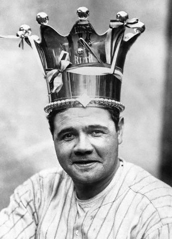 babe ruth | external image babe_ruth_02.jpg\ pinstripes was such a great color for him<3