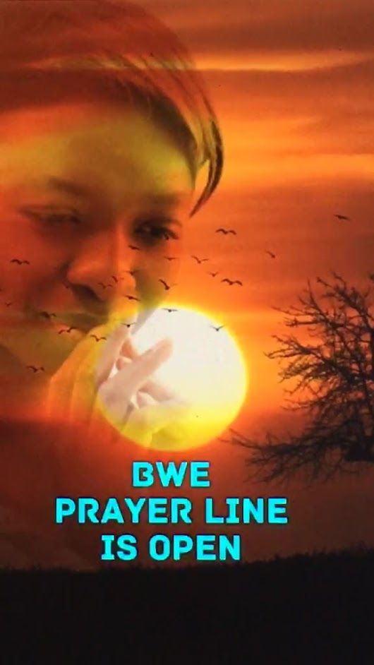BWE Prayer Line is open on FB Live  https://www.facebook.com/blackwomenempowe...
