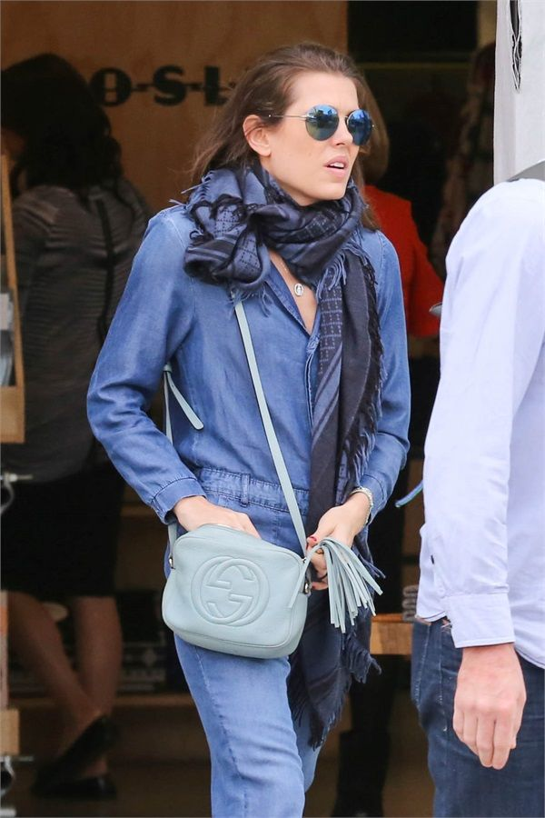 Charlotte Casiraghi, shopping in Malibu