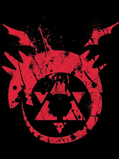 FullMetal Alchemist Homunculus by 95kyzh   RedBubble @thunderbolts14 @calukeclirwin #IHEARTRB
