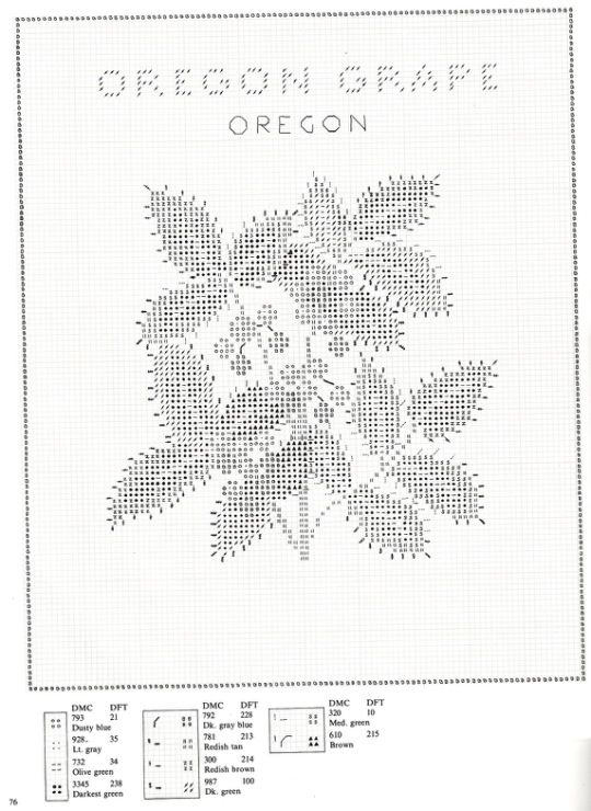 Gallery.ru / Фото #76 - U.S.State Flowers in Counted Cross-Stitch - Orlanda