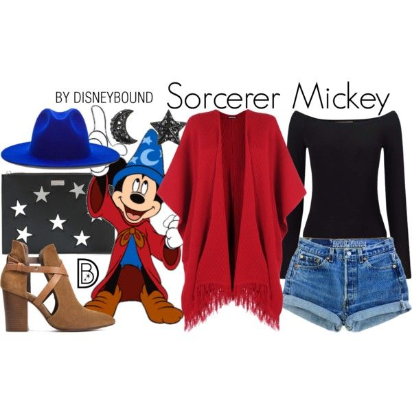 Disney Bound - Sorcerer Mickey (a more summer friendly version, though)