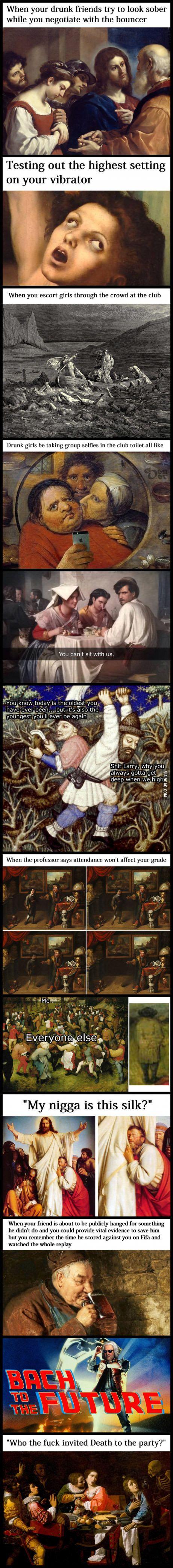 Classical Art Memes Latest (Part-5)