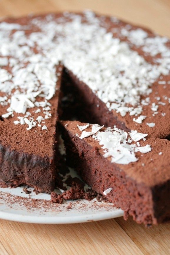 """The famous """"Chocolate Nemesis"""" cake by Ruthie Rogers, co founder of the iconic River Cafe in London. Just magnificent, Keva xo."""