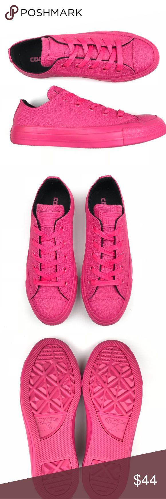 Converse All Star Ox Vivid Pink Pinktober sneakers New without box Converse All Star Ox Vivid Pink Pinktober sneakers Converse Shoes Sneakers