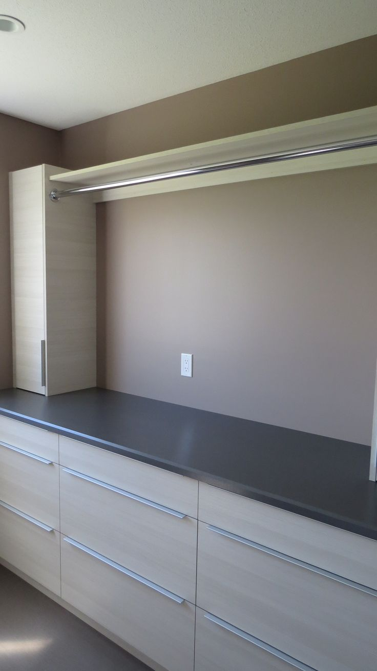 Custom Cabinetry in laundry room #laundry