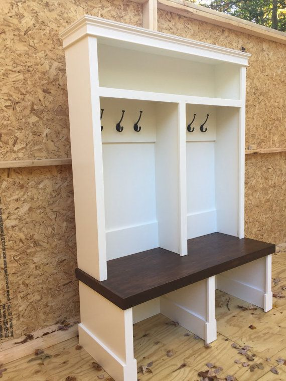 Entryway bench shoe storage organization mudroom hall tree Hallway lockers for home