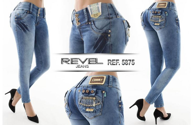 Pantalón colombiano Revel Jeans  +Modelos en:  http://www.ropadesdecolombia.com/index.php?route=product/category&path=112